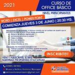 Inscripciones abiertas para el curso de Office Básico en San Basilio