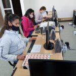 Se dicta el Taller Municipal de Computación en Monte de los Gauchos